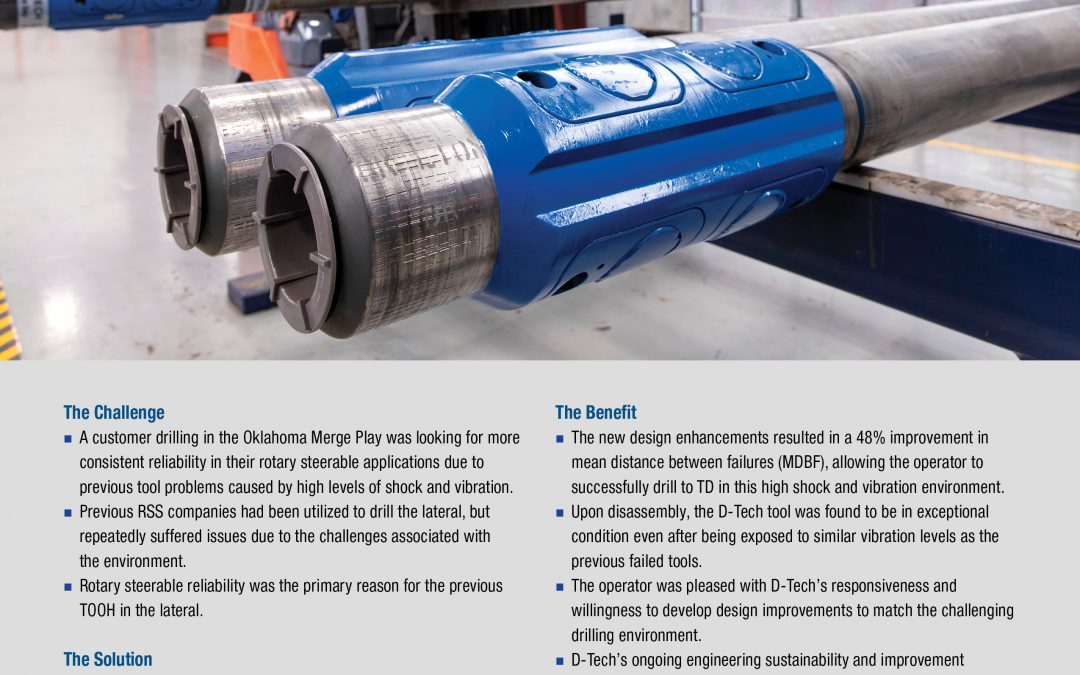 D-Tech Improves Drilling Reliability Through Engineering Sustainability and Improvement Program