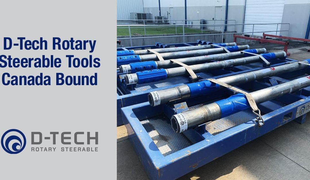 D-Tech Rotary Steerable Tools Canada Bound