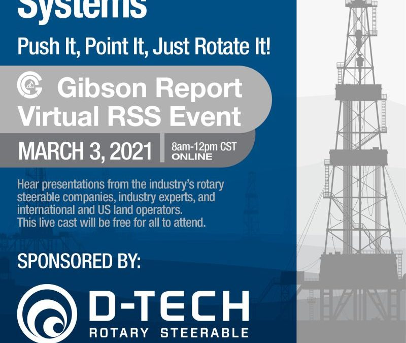 Join Us at the Free Virtual Gibson Report Event on March 3rd!