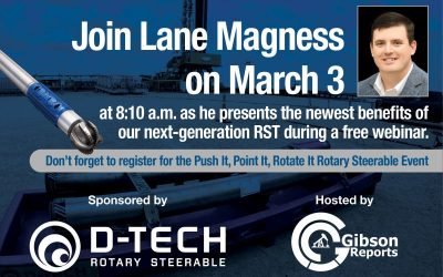 Join Lane Magness at the Gibson Report Event on March 3rd!